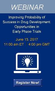Improving Probability of Success in Drug Development:  Opportunities in Early Phase Trials Webinar